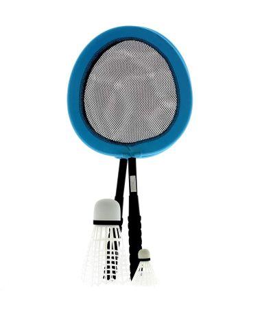 Juego-de-Badminton-Azul