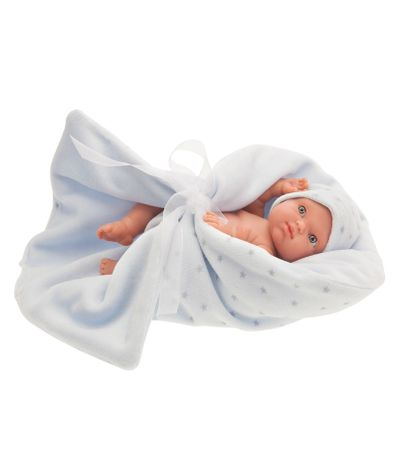 Mufly-Bebe-recem-nascido-com-o-cobertor-azul