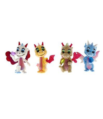 Safiras-III-Pack-4-Figuras-Alas-Purpurina