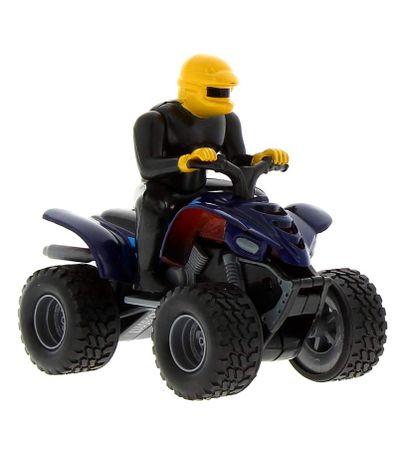 Moto-Quad-Azul