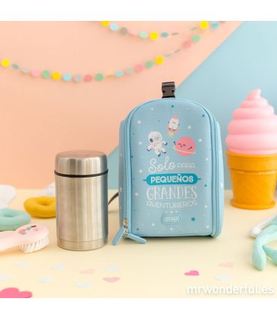 Mini-Mochila-Termica-Mr-Wonderful---Termo-500-ml-Azul