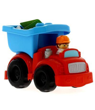 Mega-Bloks-Red-Dump-Truck