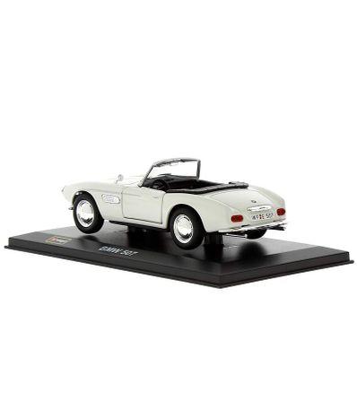 Coche-Miniatura-BMW-507-Peana-y-caja-Escala-1-32
