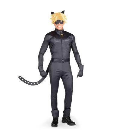 Ladybug-Disfraz-Catnoir-Hombre-XS