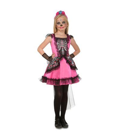 Infant-Skeleton-Costume-Damsel-Tamanho-5-6-anos