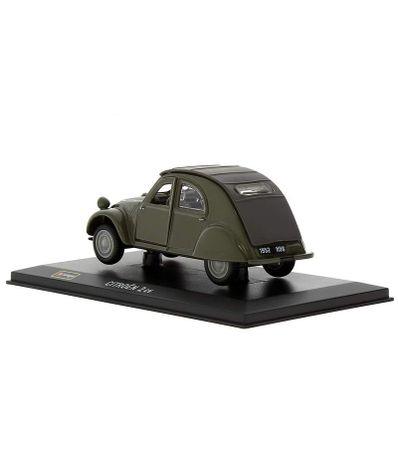 Coche-Miniatura-Citroen-2-Peana-y-caja-Escala-1-32