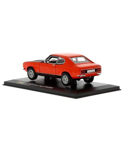 Carro-diminuto-Ford-Capri-Pedestal-e-Box-1-32-Scale