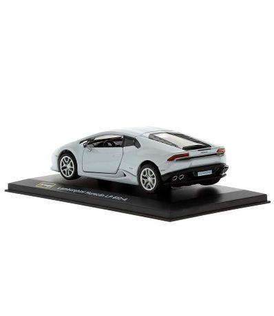 Coche-Miniatura-Lamborghini-Huracan-Peana-y-caja-Escala-1-32-Plus