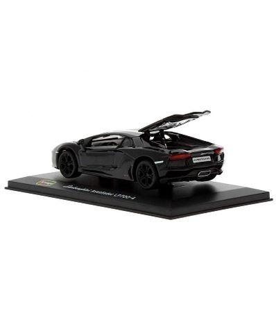 Coche-Miniatura-Lamborghini-Aventador-Peana-y-caja-Escala-1-32-Plus
