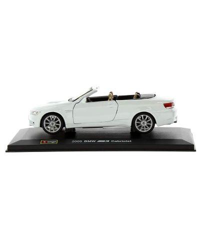Coche-Miniatura-BMW-M3-Cabiolet-Peana-y-caja-Escala-1-32-Plus
