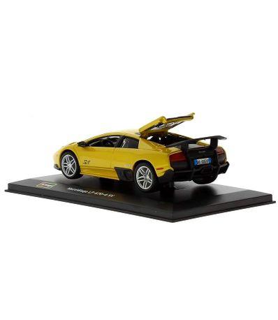 Coche-Miniatura-Lamborghini-Murcielago-Peana-y-caja-Escala-1-32-Plus