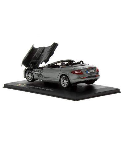 Coche-Miniatura-Mercedes-Roadster-Peana-y-caja-Escala-1-32-Plus