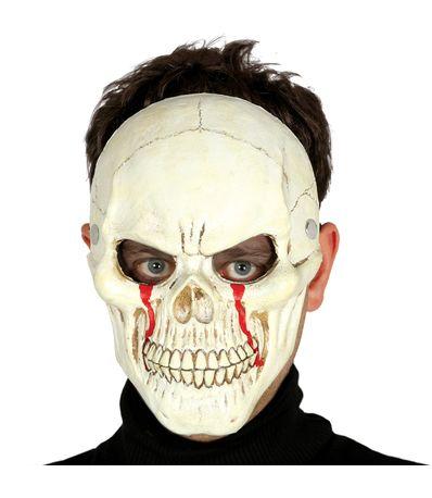 Careta-de-Calavera-con-Sangre-para-Halloween