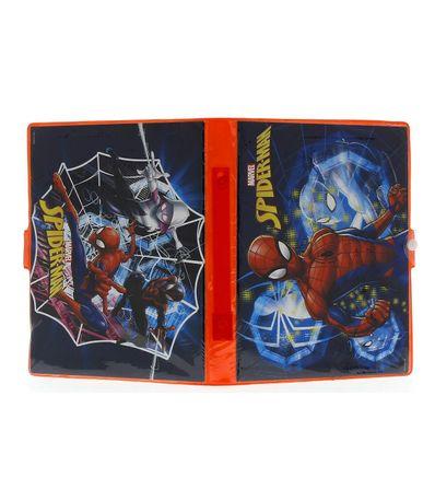 Spiderman-Estuche-de-Dibujo-y-Pintura