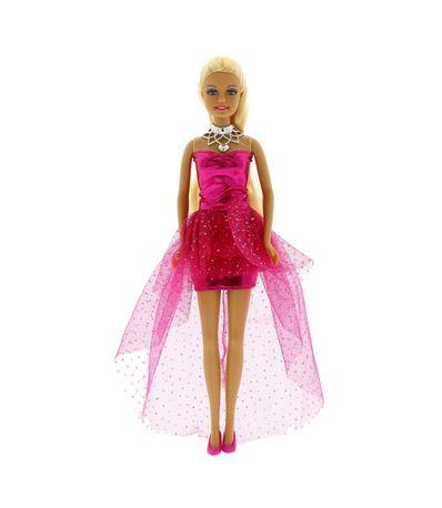 Defa-Lucy-Doll-Dress-Fucsia-Fistea