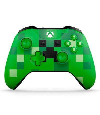 Mando-Wireless-Edicion-Limitada-Minecraft-Verde-Creeper