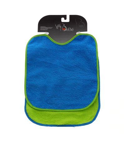 Pack-2-Babetes-c--Elastico-de-Pescoco-Azul-e-Verde