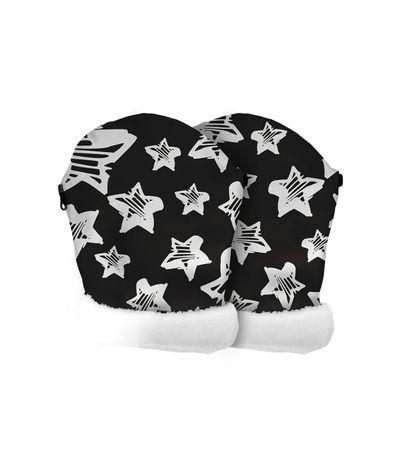 Manoplas-para-sillas-de-paseo-Estrellas-Negra