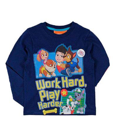 Patrulla-Canina-Camiseta-Azul