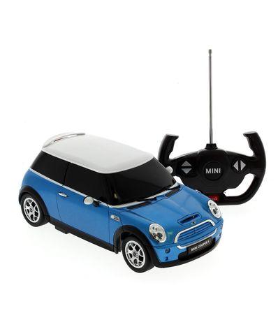 Crianca-carro-Mini-Cooper-R---C-Azul