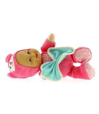 boneca-Blandito-nos-pijamas-animalito-e-Manta