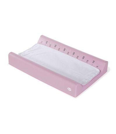 Blando-trocador-Rosa-com-tampa-de-toalha