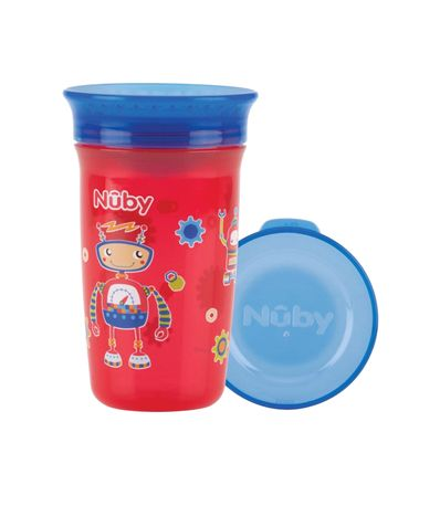 360-Magic-Cup-300ml-6m---Robot-Red