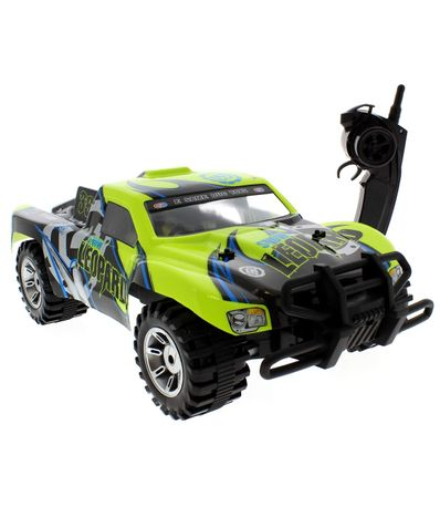 Coche-Todo-Terreno-Chariot-Verde-Escala-1-10