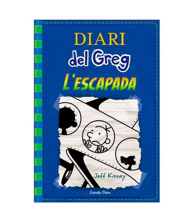 Libro-de-Lectura-Diari-del-Greg-L-Escapada