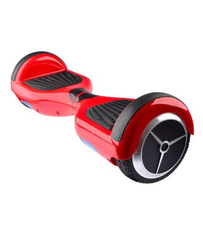 Patinete-Electrico-Rojo-con-Bluetooth