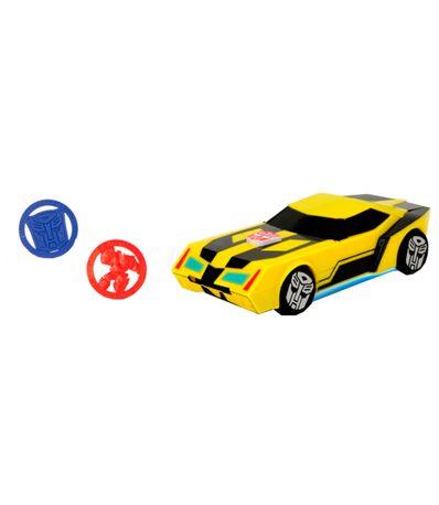 Transformers-Bumblebee-Car-Lanza-Discos
