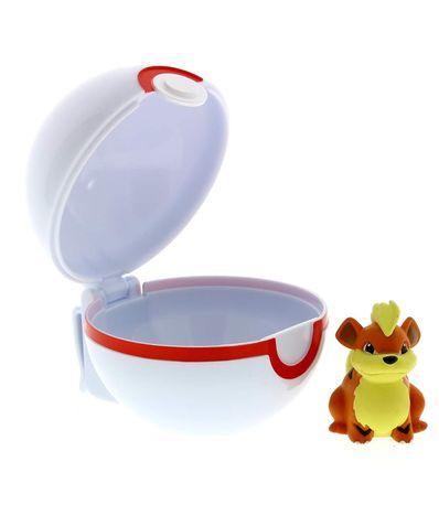 Pokemon-Bola-de-honra-com-Growlithe