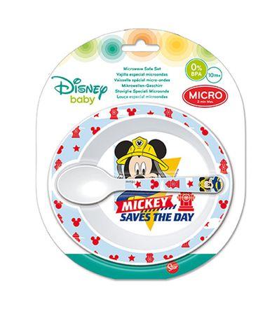 Plato-con-cuchara-microondas-Mickey