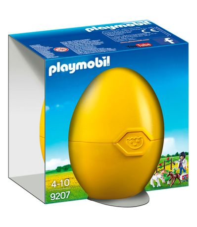 ponei-Playmobil-Amarillo-Veterinaria-Pais-Egg