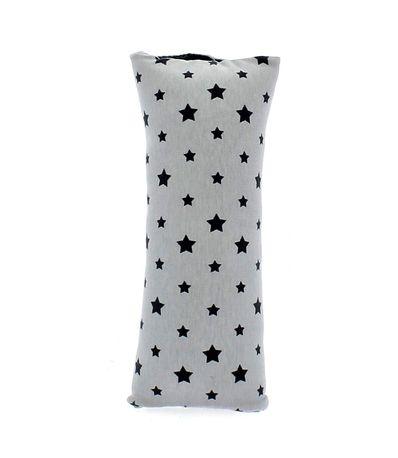 Almohadilla-XL-cinturon-auto-estrellas-gris