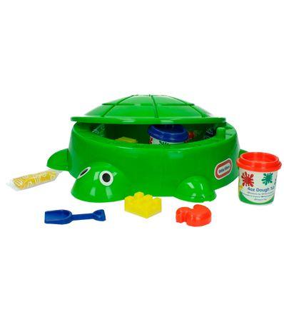 Atividades-de-tartaruga-com-plasticina
