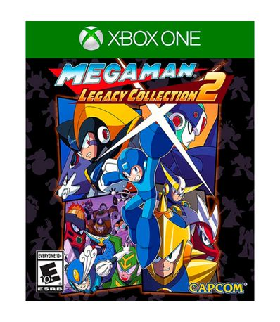 Mega-Man-Legacy-Collection-2-Importacion-Usa-XBOX-ONE