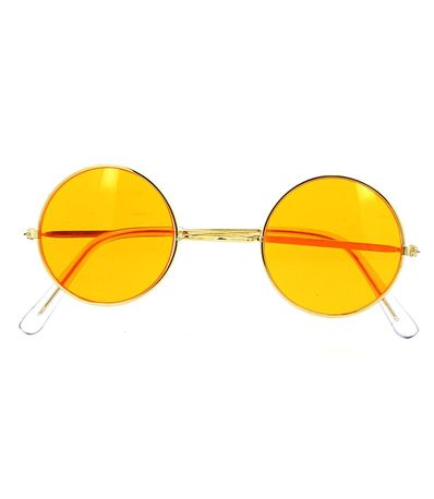 Gafas-Hippie-Color-Naranja