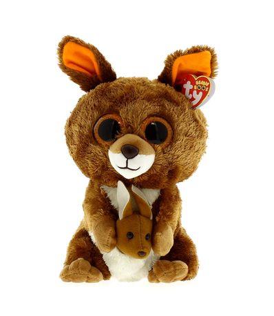 Beanie-Boo-s-Canguro-de-Peluche-de-23-cm