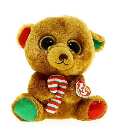 Urso-de-Pelucia-do-Beanie-Boo--39-s-Christmas-23-cm
