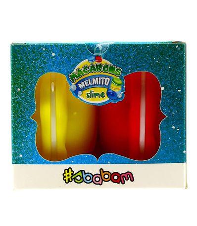 Melmito-Slime-Macarons-Rojo-y-Amarillo