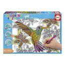 Puzzle-300-Pecas-Colouring-Colibri