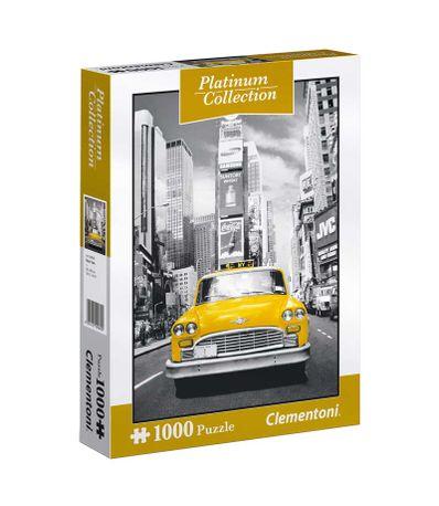 Puzzle-Taxi-en-Nueva-York-Collecion-Platinum-de-1000-Piezas