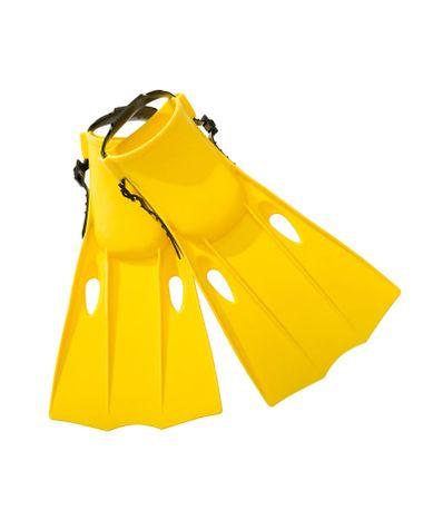 Amarelo-barbatanas-Mergulho-Tamanho-38-40