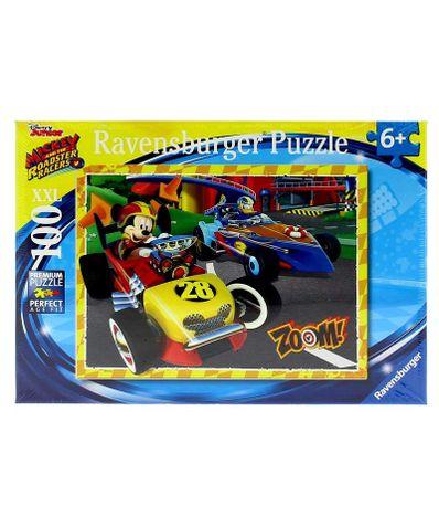 Mickey-e-os-Super-Pilotos-Puzzle-de-100-Pecas-XXL