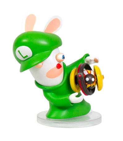 Figura-Rabbids-Luigi--Serie-Mario---Rabbids--8-Cm