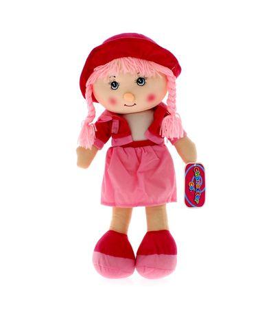 Muñeca-de-Trapo-Rosa-50-cm