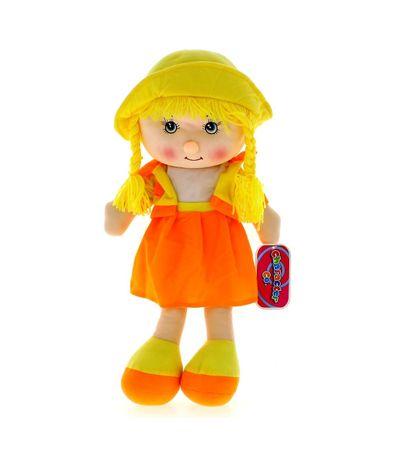 Boneca-de-Pano-Amarela-50-cm