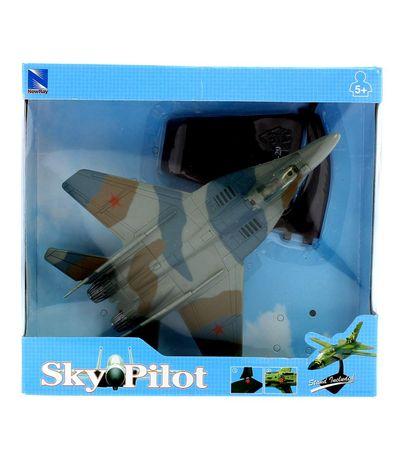 Aviao-com-base-MIG---29-Escala-1-72