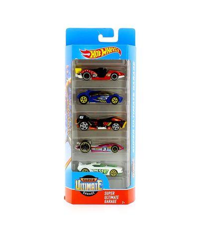 Hot-Wheels-Pack-5-Vehiculos-Super-Ultimate-Garage
